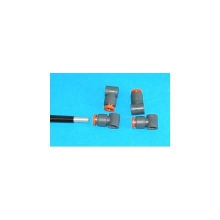 Plastic rod fitting (T6)