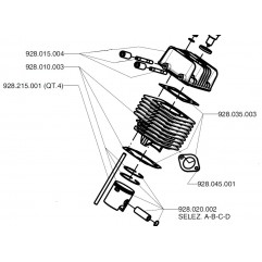 Cylinder and parts