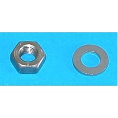 Flywheel nut / écrou et rondelle pour allumage (M3D)
