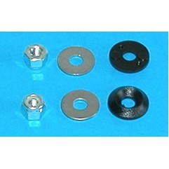 Écrou et rondelles de couvercle (M4RD)